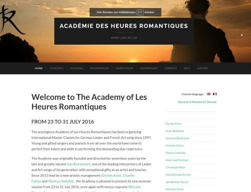 Academie Des Heures Romantiques